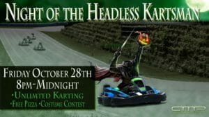 Halloween 300x169 - Oct 28: Night of the Headless Kartsman