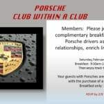 porche club