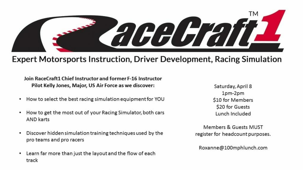 racecraft motorsports instruction class