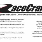 April 8, 2017- RaceCraft1 Simulation