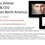 March 29, 2017- Meet Klaus Zellmer President & CEO Porche Cars North America