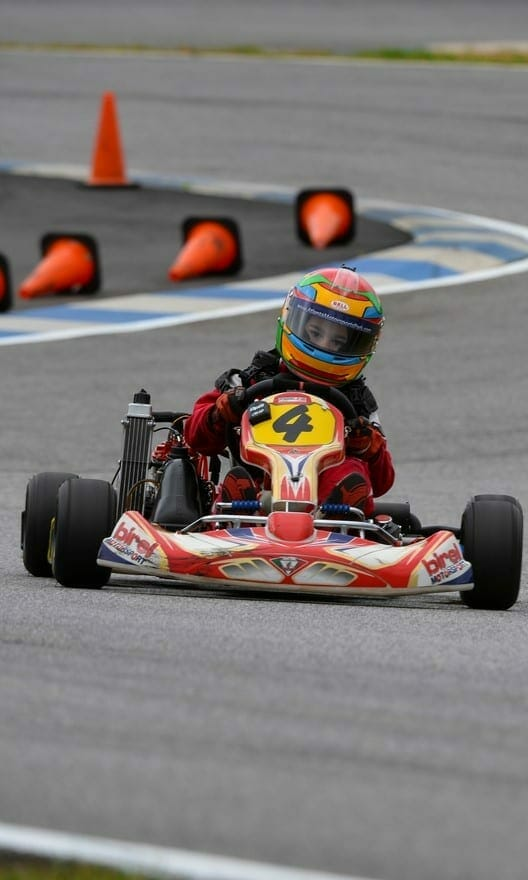The Path From Kart Racing to F1
