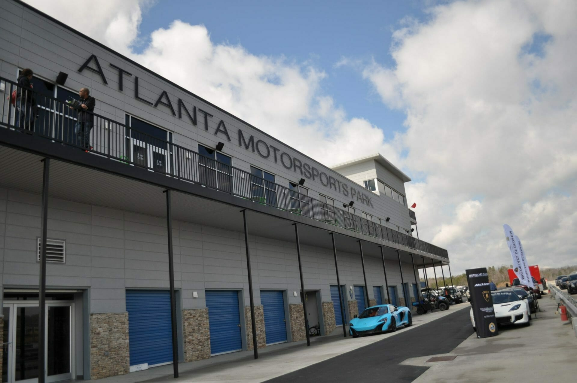 Motorcars of Georgia brings luxury cars to AMP for Spring Track Day
