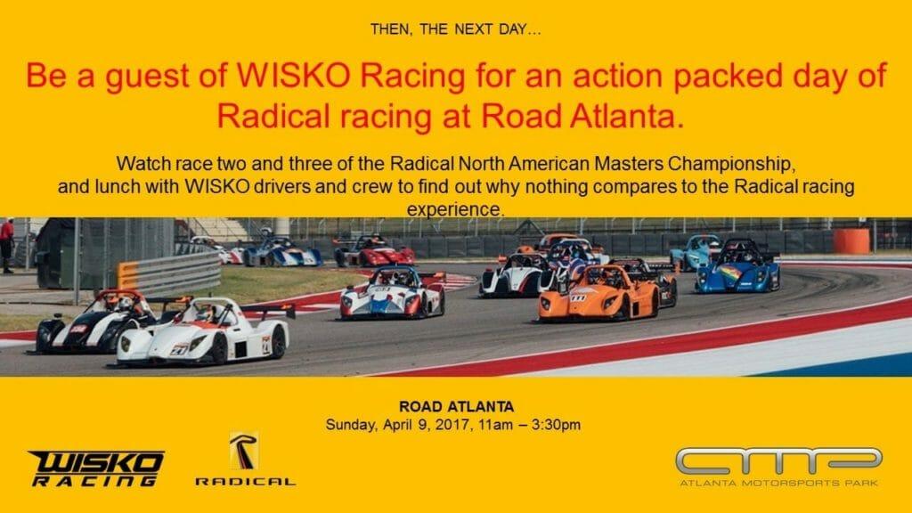 Radical at Road Atlanta