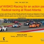 April 9, 2017- Road Atlanta Radical Event