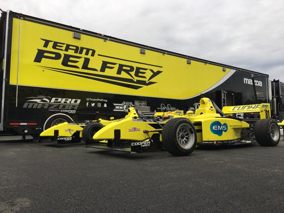 Race Teams Test at AMP
