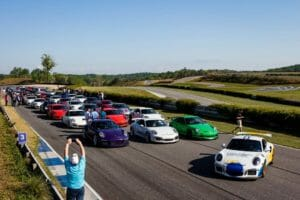 Smokies 300x200 - Over Forty Porsches Hit The Track During Charity Event