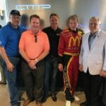 Key Georgia Politicians and a NASCAR Legend Visit AMP