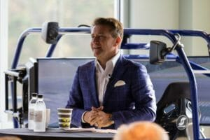 Sharkman 166 300x200 - Shark Tank's Robert Herjavec visits Atlanta Motorsports Park to talk business, cyber security and fast cars.