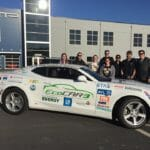 Georgia Tech's SAE team tests electric car at AMP
