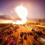 Sparks In The Motorsports Park – July 4th