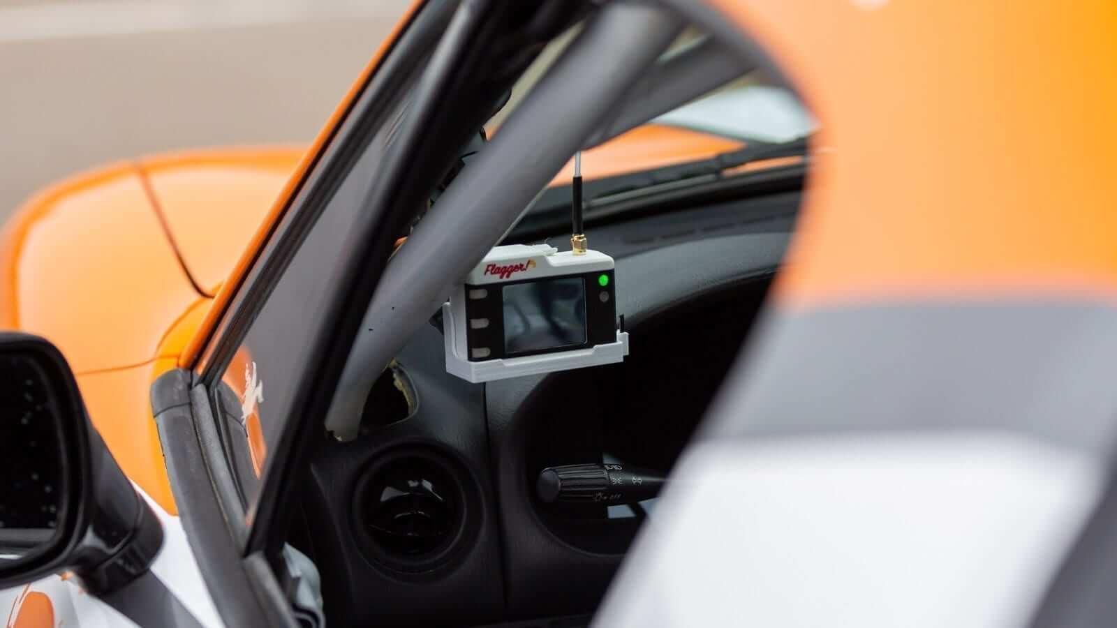 flagger web2 - Flagger In-Car Alert System