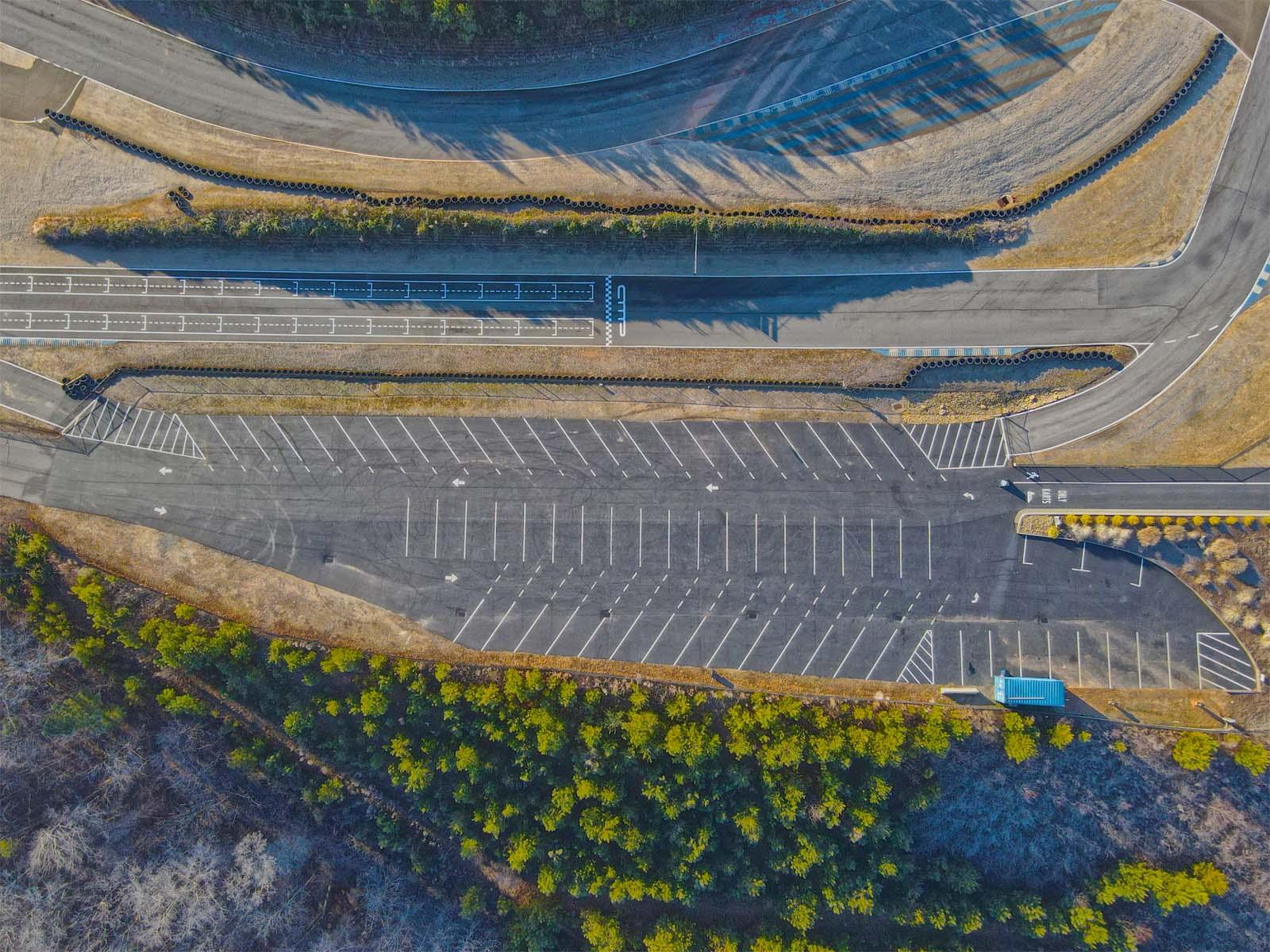 KT parking lot web - 2020 Improvements at AMP (Review)
