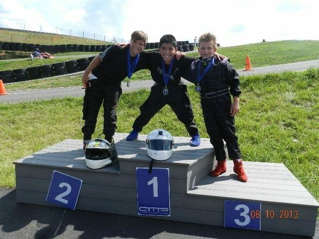Cadet/Yamaha Sportsman: 1 - Enzo Espinosa, 2 - Willis Woerheide, 3 - Nick Pearson
