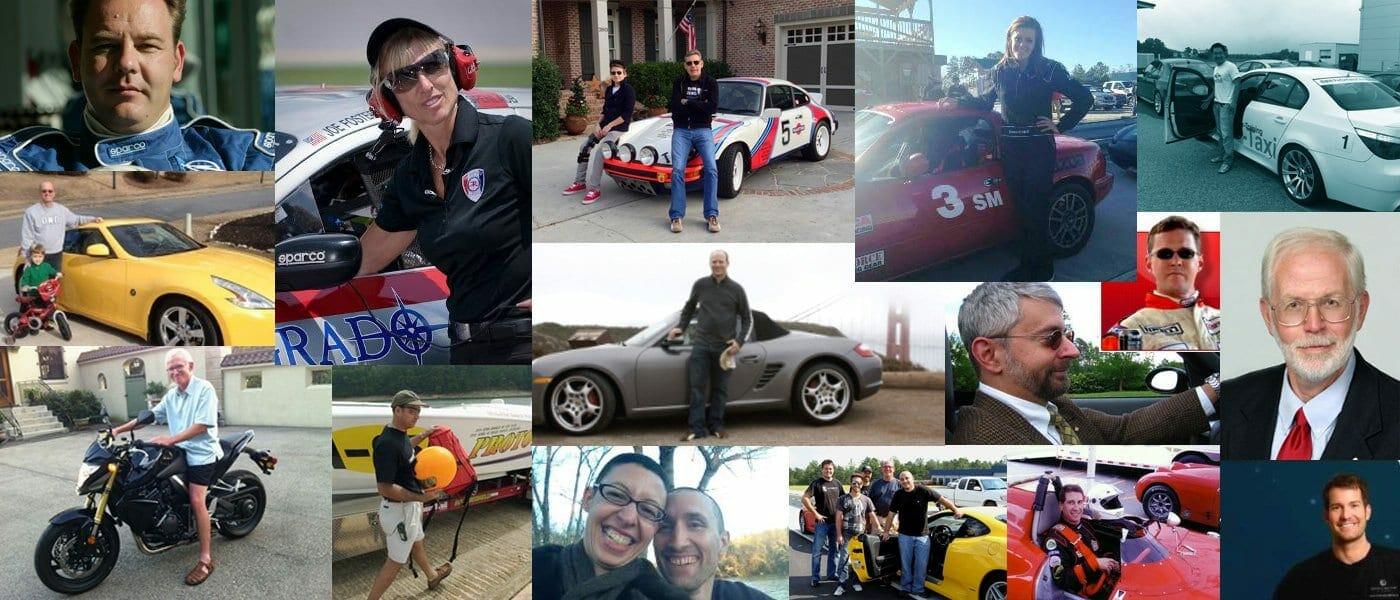 member collage - Motorsports Country Club