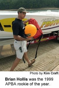 Fast Boat guy. 9/24/00. Kim Craft.