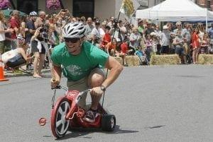 Big Wheel Race on Track!