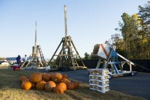 Chump Car Races, Trunk or Treat, & Punkin' Chunkin' Competition