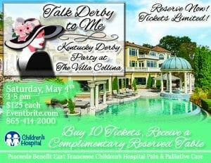 Talk Derby To Me @ Member's Tennessee Villa @ Villa Collina