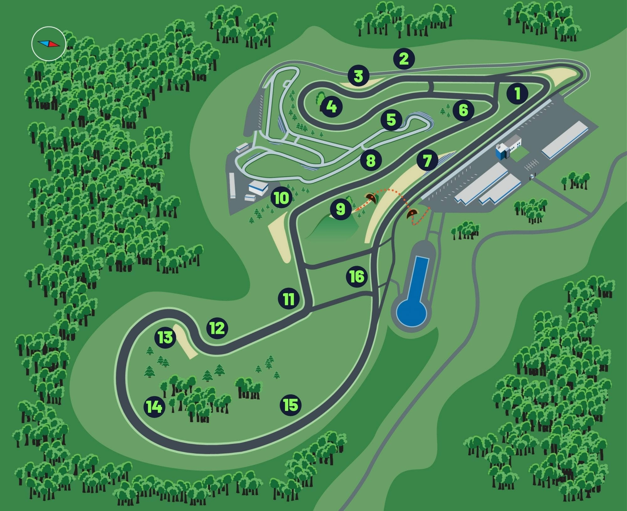 Interactive Track Map