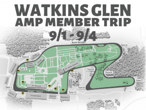 VIP Member Trip - Chin Track Days at Watkins Glen International