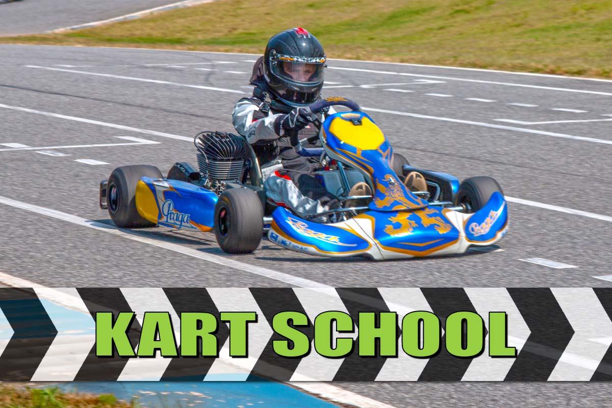 Kart school holiday - Member Racing